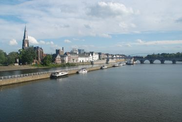 Maastricht – right shore of Maas