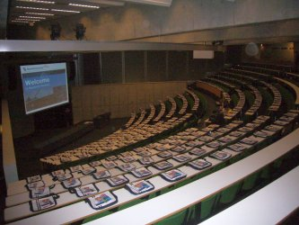 Lecture hall at SBE