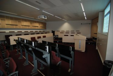 Lecture room at Maastricht University