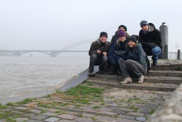 Our Discover Holland trip group in Nijmegen