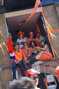 Queensday on streets
